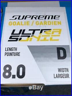 Bauer Supreme Ultrasonic Goal Skate Size 8D