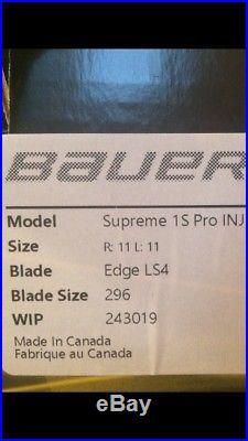 Brand New Bauer Supreme 1S Senior Pro Stock Size 11