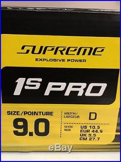 Brand New Bauer Supreme 1s Skates Pro Stock size 9