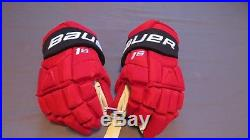 Brand New Bauer Supreme TotalONE 1S Pro Stock Devils 14 Hockey Gloves! MX3