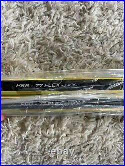 Brand New Bauer Supreme Ultrasonic Lh P88 77 Flex Lie 6 Grip Sticks