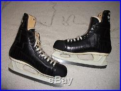 Brand New Vintage Bauer Supreme Custom 100 Ice Hockey Skates Mens 11-1/2 Leather