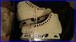 Dominic Hasek Pro Return Bauer Supreme Goalie Skates NHL Pro Stock Sz 10.5 NHL
