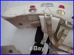 Henrik Lundqvist Pro Stock New York Rangers NHL Goalie Pads Bauer Supreme Rare