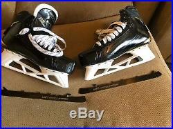 NEW Bauer Supreme 2S Pro Stock Goalie Skates Size 9EE