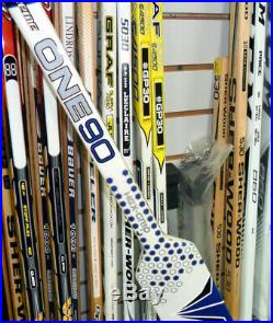 NEW! Bauer Supreme One90 Composite Goalie Stick, Senior 26-1/2, White/Blue