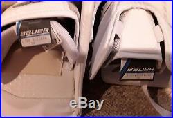 NEW Bauer Supreme S190 Goalie Pads Glove Blocker Senior Small BUNDLE kit