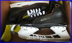 NEW Bauer Supreme S25 Ice Hockey Skates Sr Skate Size 12 R / 13.5 US Shoe Size