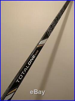 NHL Pro Stock Bauer Seabrook Supreme TotalOne NXG Hockey Stick RH 102 Flex Grip