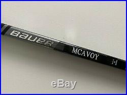 New! Bauer SUPREME ADV McAvoy NHL Game Issued Pro Stock Hockey Stick RH 2S Pro