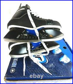 New Bauer Supreme 1100 Hockey Skates Tuuk Blades Size 11.5 Skate StainlessSteel