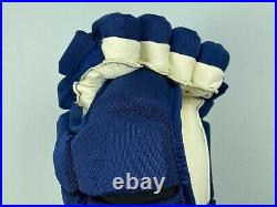 New! Bauer Supreme 1S Toronto Maple Leafs NHL Pro Stock Hockey Player Gloves 13