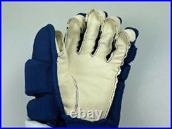 New! Bauer Supreme 1S Toronto Maple Leafs NHL Pro Stock Hockey Player Gloves 14