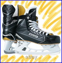 New Bauer Supreme Ignite (S160) Jr Ice Skate 1,1.5,2,2.5,3,3.5,4
