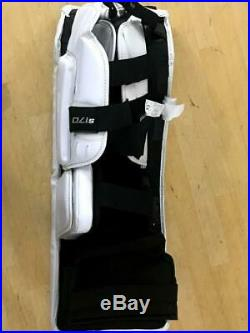 New Bauer Supreme S170 Goalie Leg Pads Junior Large