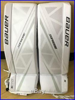 New Bauer Supreme S170 Goalie Leg Pads Senior Large