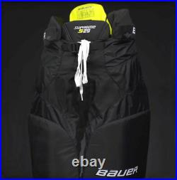 New Black Bauer Supreme S29 Ice Hockey Pants Sr Medium