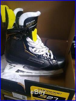 New Hockey Skate Bauer Supreme S27 Sr Skate Size 7.5 Shoe Size 9