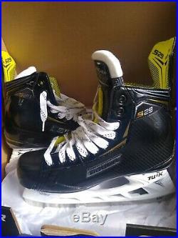 New Hockey Skate Bauer Supreme S29 Sr Skate Size 10.5 Shoe Size 12