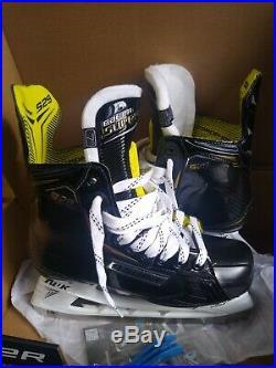 New Hockey Skate Bauer Supreme S29 Sr Skate Size 7 Shoe Size 8.5