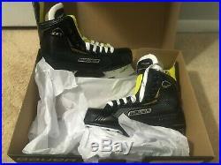 New In Box Bauer Senior Supreme S27 Ice Hockey Skates Size 9.5D