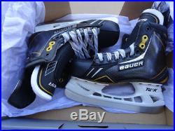 New Pro Bauer Supreme Nxg Sr Hockey Skates Ls3 Steel Sizes 7.5 9.5d