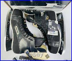 New Vintage BAUER SUPREME 1000 SR Hocky Skates Size 11 D With Carry Bag & Box