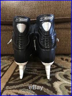 Nike Bauer One 90 Pro Stock Skate 10D New Supreme NHL Hockey Custom Rare Mint