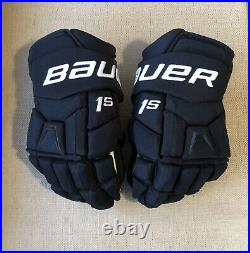 Pro Stock Bauer Supreme 1S 14 Winnipeg Jets Hockey Gloves