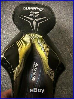 Pro Stock Bauer Supreme 2s Pro Skates Size 9.25d/a New