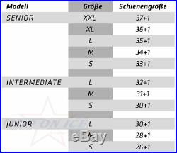 Schienen Bauer Supreme S27 S18 Senior