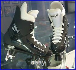 Supreme Turbo 33 Quad Roller Skates UK 7½ Look Like Bauer Skates