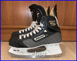 Vintage BAUER 5000 SUPREME hockey skates 9 EEE like new made in Canada